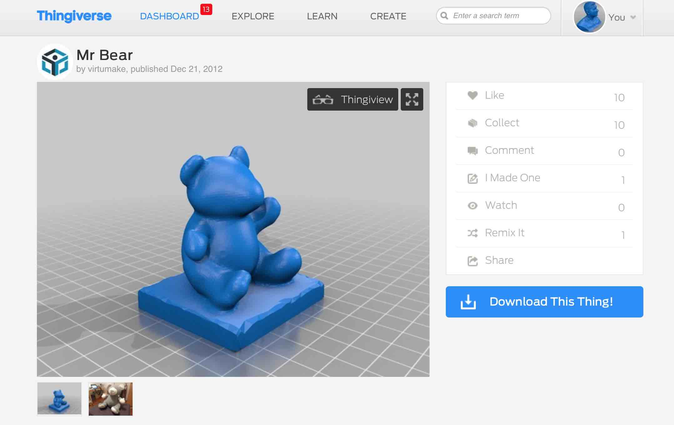 What Is Thingiverse? - LBRY
