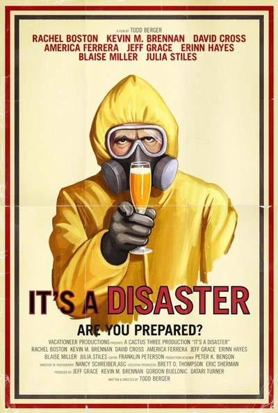 It's a Disaster theatrical poster
